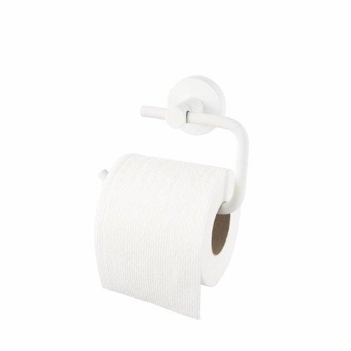 Toiletrolhouder Kosmos Zonder Klep Mat Wit
