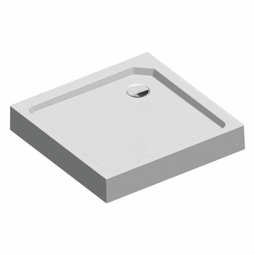 Fusion Douchebak Opbouw Vierkant 90X90X14 Cm