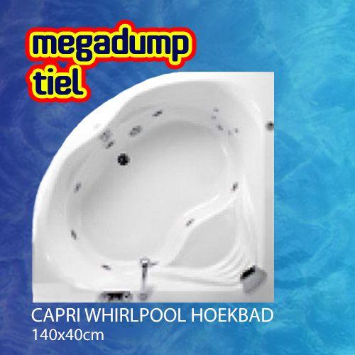 Whirlpool Hoekbad 140X140X45 Cm Combipool
