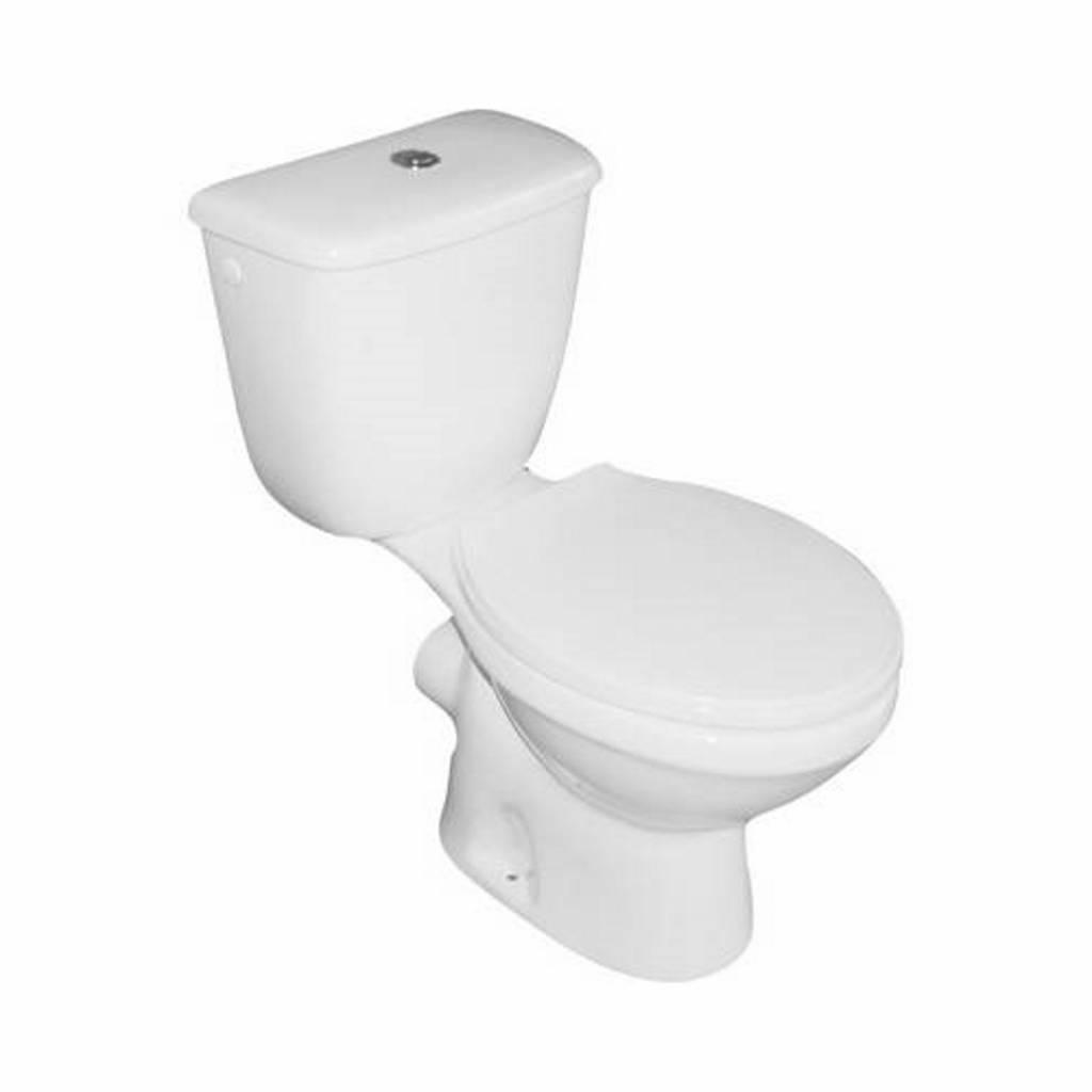 Staande Wc Pot Compleet.Vm Go Compleet Toledo Duoblok Staande Toilet Van Keramiek Ao Of Pk