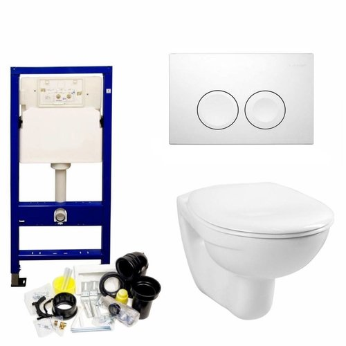 Up100 Toiletset 03 Megasplash Basic Smart Met Bril En Drukplaat