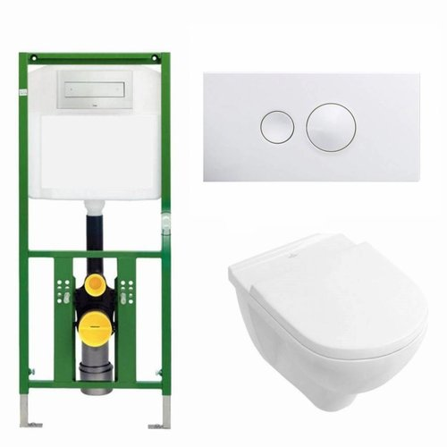 Ecoplus Toiletset 10 Villeroy & Boch O.Novo / Visign For Style 10 Drukplaat