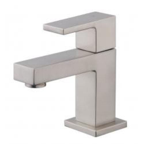 Wiesbaden Rombo vierkante toiletkraan geborsteld staal