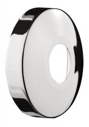 Chroom kraanrozet 1/2x15mm