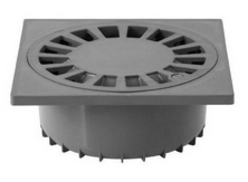 PVC Vloerput 250x250 90/110 onder