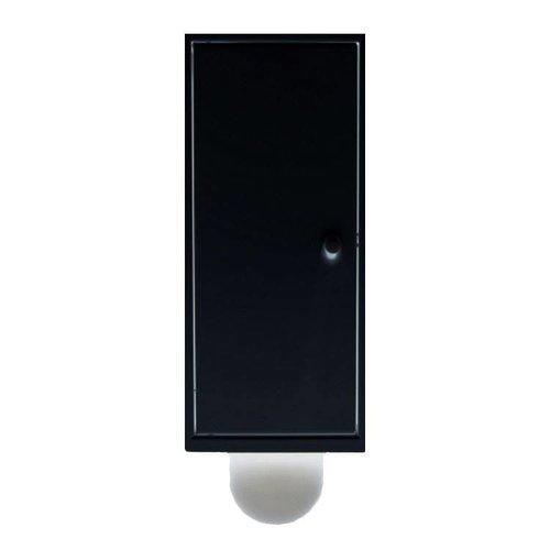 Inbouw Toiletborstel Etsero Brush-Up RVS MAT ZWART