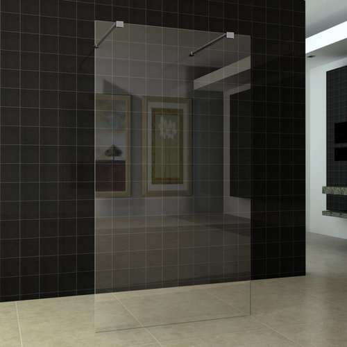Inloopdouche Vrijstaand 120X200cm 10mm Nano Glas