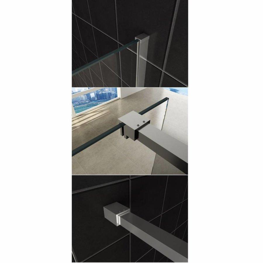 Inloopdouche Slim Glasplaat Helder 8mm Nano (Alle Maten) x 200cm