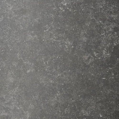 Vloertegel BelgaLiving 81x81 cm (zwart en grijs)