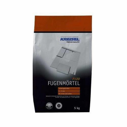 Kreisel F120 voeg voor vloer en wand Grijs 5 KG