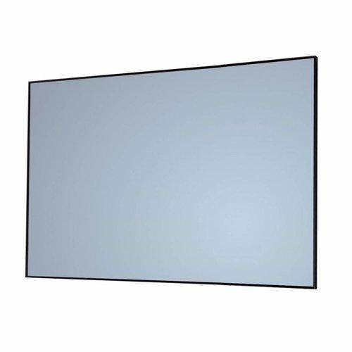 Badkamerspiegel Sanicare Q-Mirrors 70x70x2cm Zwart