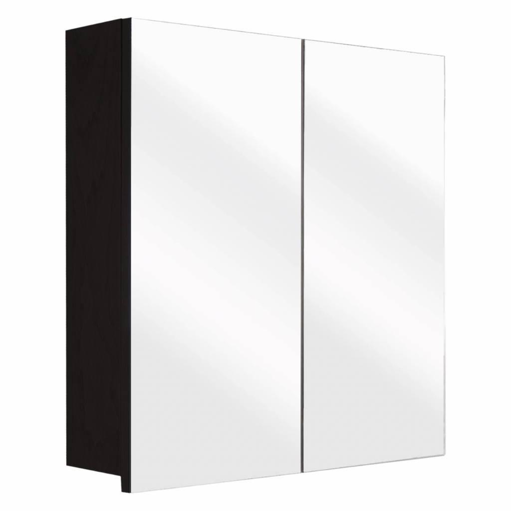 badkamer spiegelkast Differnz The Collection Concept 60x62x15 cm Zwart Differnz