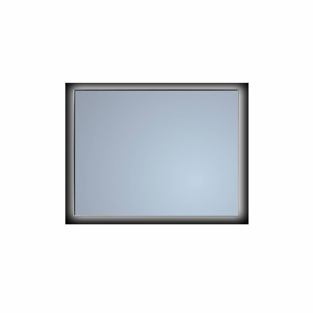 Badkamerspiegel Sanicare Q-Mirrors Ambiance 'Cool White' LED-verlichting Handsensor Schakelaar 70x12