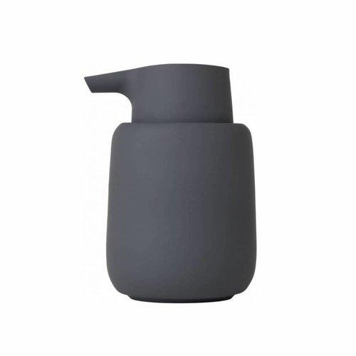 Zeepdispenser Blomus Sono 250 ml 14x8,5 cm Donkergrijs