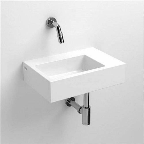 Fontein Clou Flush 2 36x24.5x9cm Keramiek Glans Wit (Zonder Kraangat)