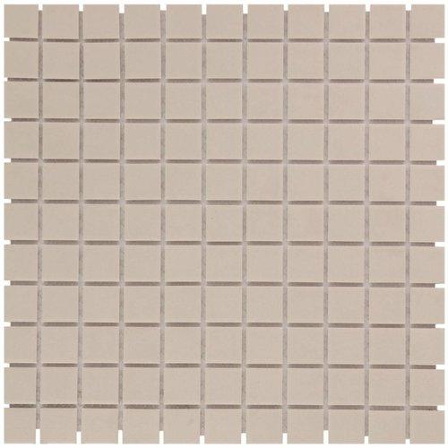 Mozaïektegel The Mosaic Factory London Vierkant 23x23 mm Wit