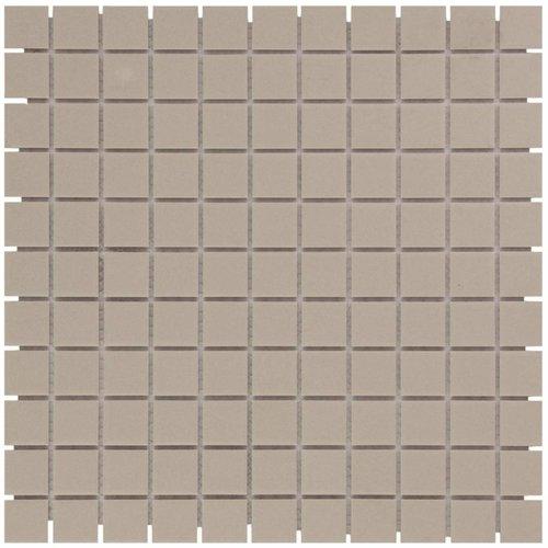Mozaïektegel The Mosaic Factory London Vierkant 23x23 mm Grijs