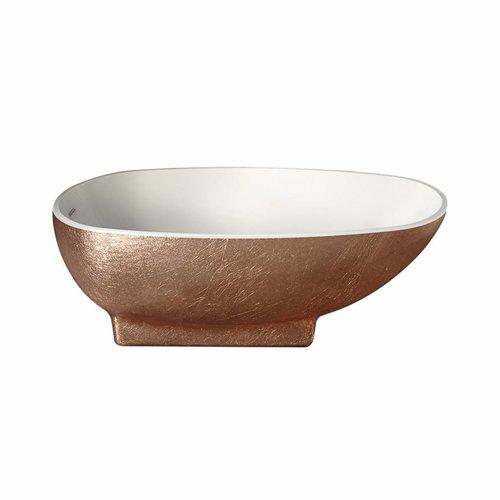 Vrijstaand Bad Best Design Color Bronze Acryl 168x78x60cm Brons