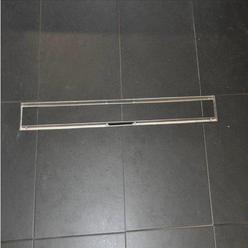 Tegelrooster RVS Wiesbaden Voor Douchegoot 100x7cm