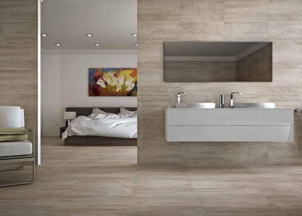 Badkamer Vloertegels 60x60.Cristacer Vloertegel Toscana Taupe 60x60 P M