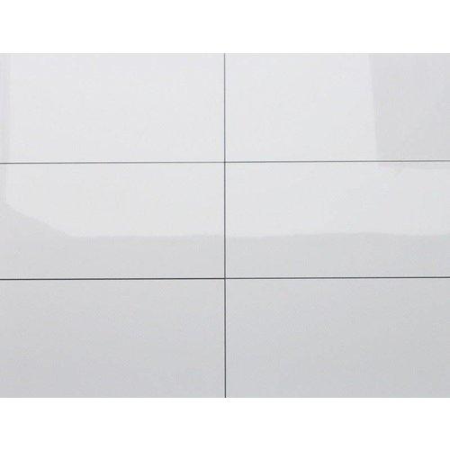 Wandtegel Kerabo wit glans gerectificeerd 30x60 (Doosinhoud 1,26 M²)