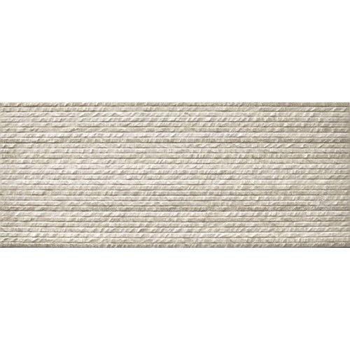 Wandtegel Neutra Relief Decor Cream 30x90 rett (Doosinhoud 1,08 M²)