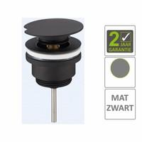 AQS Draaiwaste Luxe 5/4 Laag Mat Zwart