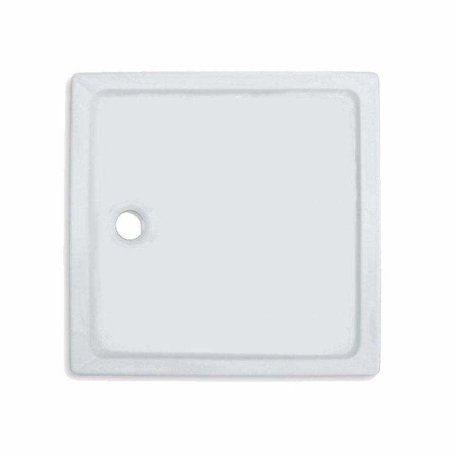 Douchebak VM Go Eden 80x80x3.5cm Acryl Vierkant Exclusief Potenset