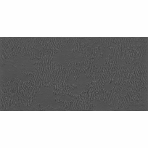 Vloertegel Jos Strucco Plaster Uni Decor 30x60 cm Antracita Mat (doosinhoud 1.26 m2)