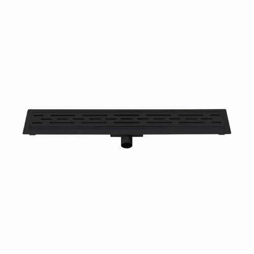 Douchegoot Best Design Black Met Flens 80x7x6.7cm Mat Zwart