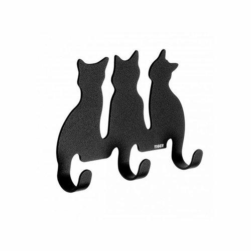 Haak Tiger Cats Zwart