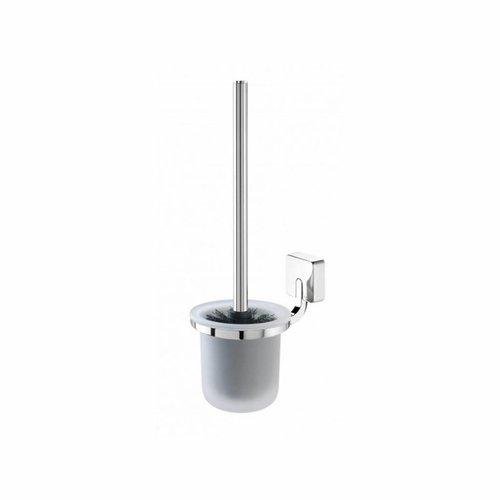 Toiletborstelhouder Tiger Impuls Muur Glas/Chroom 38cm