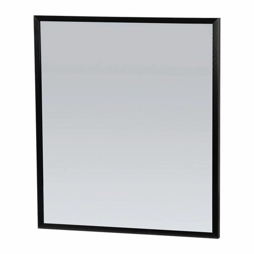 Spiegel Topa Silhouette 60x70x2.5 cm Aluminium Zwart