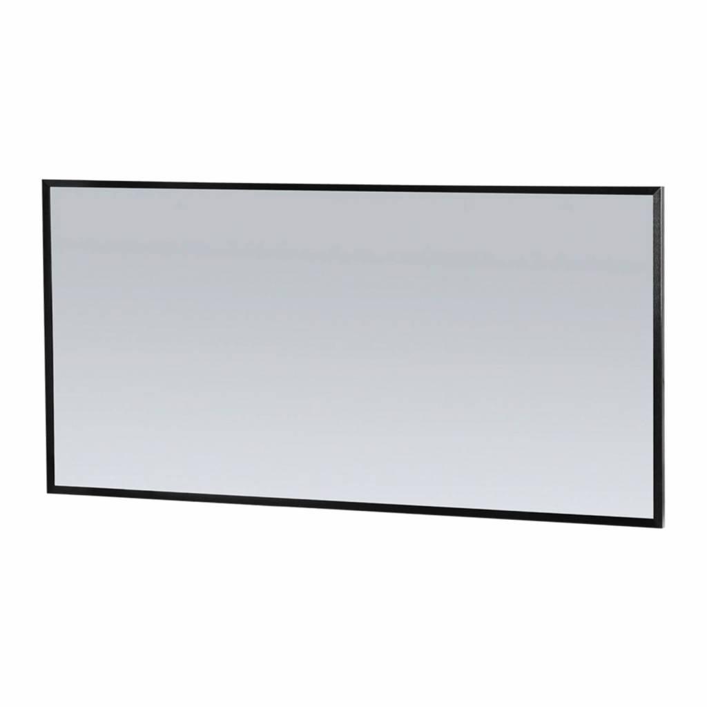 98bbed0429d Spiegel Topa Silhouette 140x70x2.5 cm Aluminium Zwart Megadump  Badkamermeubels Spiegel Topa Silhouette 140x70x2.5 cm Aluminium Zwart De  Silhouette serie van ...
