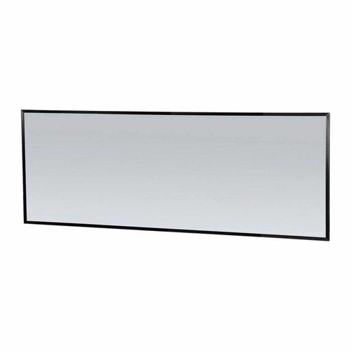 Spiegel Topa Silhouette 200x70x2.5 cm Aluminium Zwart