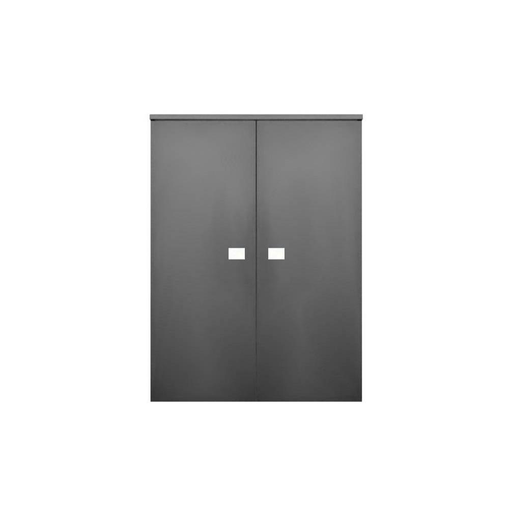 badkamer kolomkast Sanicare Q5 2 Soft-Close Deuren 90 cm Schots-Eiken Sanicare