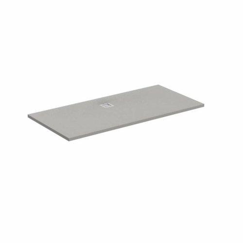 Douchebak Ultra Flat Solid Rechthoek Bruin