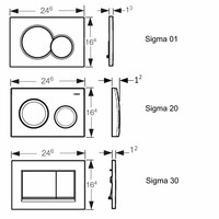 UP320 Toiletset 54 Villeroy & Boch O.Novo DirectFlush Compact Met Bril En Drukplaat