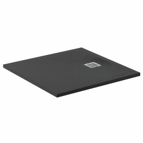 Douchebak Ideal Standard Ultra Flat Solid Vierkant (in 3 afmetingen) Antraciet