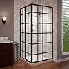 ADW Design Douchecabine Hoekinstap Black Corner 89 Of 99 Cm 4Mm Nano (2 Maten)