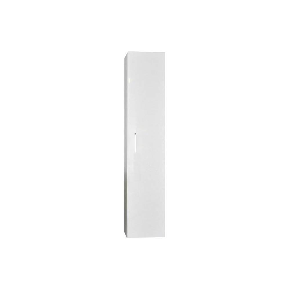 badkamer kolomkast Sanicare Q6/Q14 1 Soft-Closing Deur Inclusief Waszak 160x33,5x32 cm Grey-Wood Sanicare