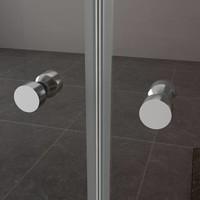 Dubbele Pendel-Nisdeur 6 Mm Nano Glas (ALLE MATEN)