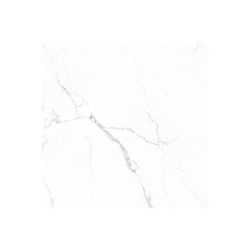 Vloertegel Statuario glans 75x75 rett (Doosinhoud 1,13 M²)