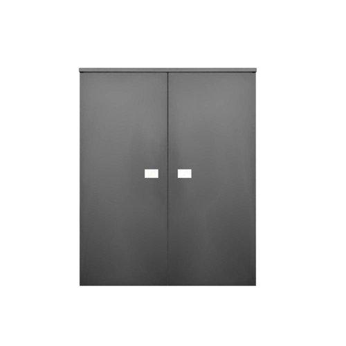 Kolomkast Sanicare Q5 2 Soft-Close Deuren 90 cm Hoogglans Wit