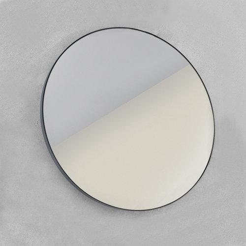 Spiegel LoooX Mirror Black Line Round Ø 100cm