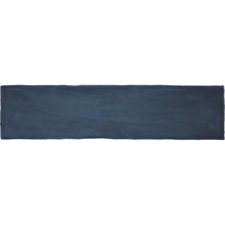 Wandtegel Colonial Marine Glans 7.5x30 cm Glans Donkerblauw (doosinhoud 0.5 m2)
