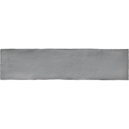 Wandtegel Colonial Grey Mat 7.5x30 cm Mat Grijs Prijs P/m2