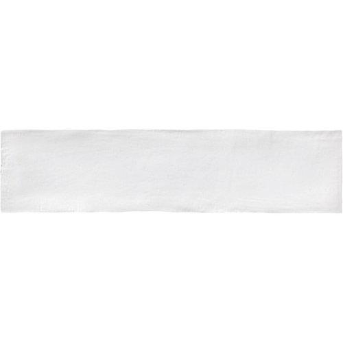 Wandtegel Colonial White Mat 7.5x30 cm Mat Wit Prijs P/m2