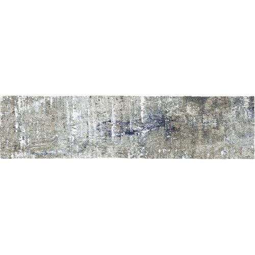 Wandtegel Colonial Wood White Mat 7.5x30 cm Mat Wit Hout (doosinhoud 0.5 m2)