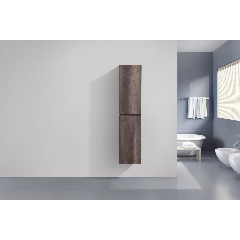 badkamer kolomkast Sanilux Infinity 160x35x35 cm Century Oak Sanilux